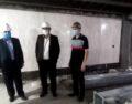 بازدید جناب آقای سلیمانی راد از پروژه اداره امور شعب شمال تهران (قلهک)