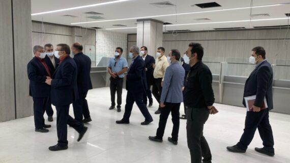 تحویل موقت پروژه اداره امورشعب شمال تهران (قلهک)